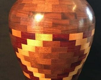Segmented Handmade Vase