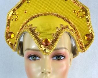 Skull Cap Hat Base Carnival Headdress Frame