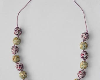 Liberty of London Fabric Necklace