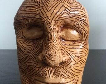 Earthy Head Vase
