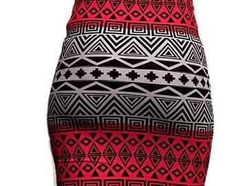 Tribal Print Skirt, African Print Skirt,  Tribal Midi Skirt, Tribal Mini Skirt, Printed Skirt,Tribal Pencil Skirt,African Pencil Skirt,Skirt