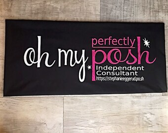 Perfectly PERSONALIZED Posh Tablecloth with FREE storage box