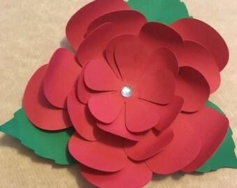 6 DIY Paper Cardstock Flower Package [Creates 6 Complete Flowers]