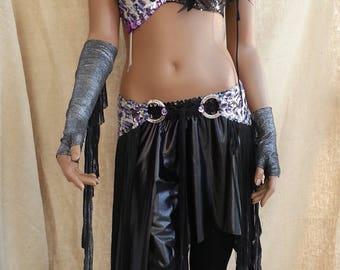 Custom tribal fusion (bra-necklace-sarong-skirt)