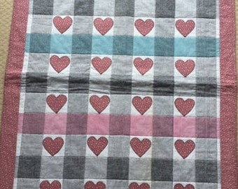 Girl of Hearts Quilt