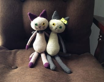 Crochet Pattern Pochi the cat amigurumi PDF