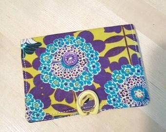 Vintage Floral Cardholder Wallet