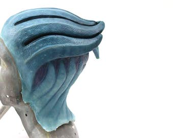 Foam Latex Asari headpiece - Mass effect Cosplay - Made to order, worldwide shipping - Any color!