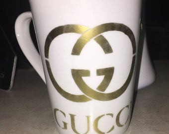 Gucci inspired coffee mugs