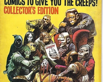 Creepy #1 Collector's Edition Horror Sci-Fi Comic Book First Issue 1964