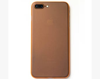 Super Thin iPhone 7 Plus Case | Orange - SimpliCase