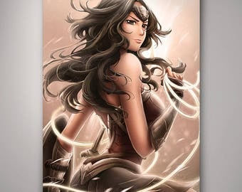 DC - Wonder Woman // Art Print // Illustration