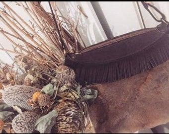 Vintage Tassel Fur Handbag