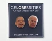 Obama Biden Bromance Earrings
