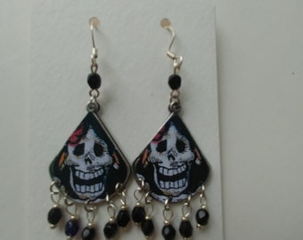 Day of the Dead Filigree Earrings