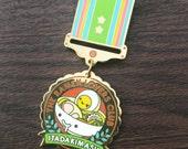 Ramen Lovers Club Enamel Medal