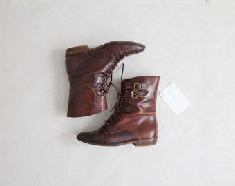 ankle buckle boots | ankle boots 5 | brown leather boots