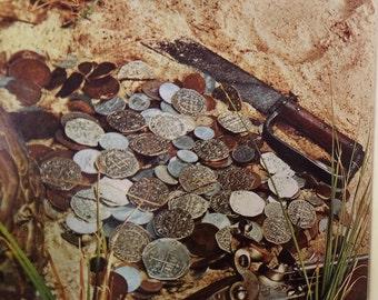 1966 Treasures of Galveston Bay by Carroll Lewis + Hardcover, Treasure, Ship Wrecks, Buried Treasure