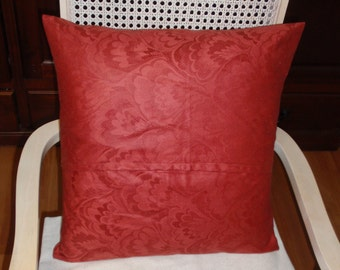 Envelope Throw Pillow cover , Handmade , Fits  18 X 18 inches square pillow insert ( not included ) .Decorative  Home Decor pillow
