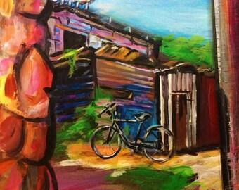 Taboga Island, Panama - Reproduction of Original Painting