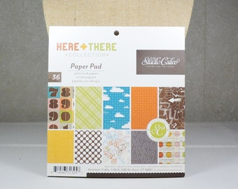 Scrapbook Paper Pad 6x6 by Studio Calico 36 sheets