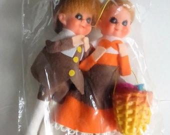 Vintage Pilgrim Dolls NOS in Original Package
