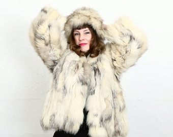 SALE Fox Fur COAT & HAT