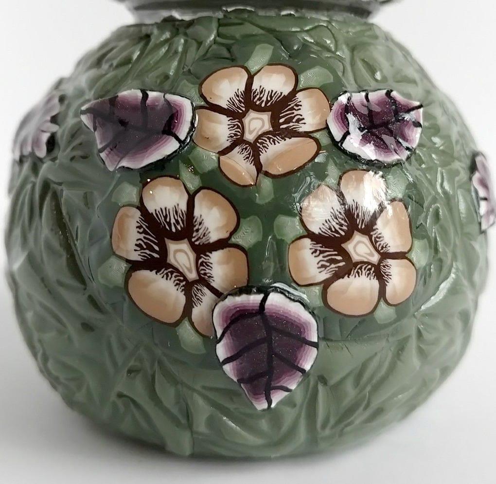 Unique Floral Salt Pepper Shakers
