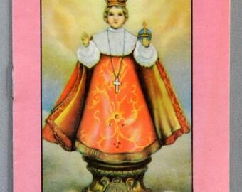 Infant of Prague Novena Daniel A. Lord, S.J. 1947 Vintage Catholic Booklet 17908