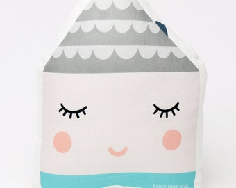 HOUSE BABY PILLOW toy plush