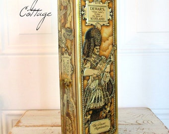 BeauTiFuL DeWaR'S SCoTLaND SCoTCH WHiSKY TiN!