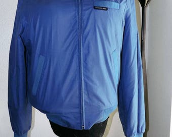 Sky Blue MEMBERS ONLY Lightweight jacket by Europe Craft - Mens Size 42