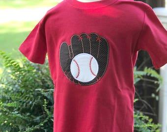 Baseball Applique Shirt