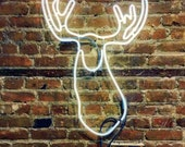 Wee Moosey Neon Sign, Ready-made