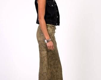 The Vintage Calvin Klein Black Denim Moto Vest
