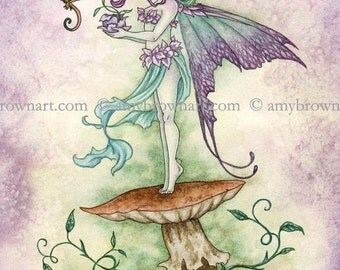 5x7 New Beginnings fairy PRINT by Amy Brown