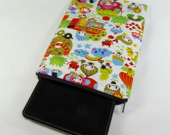 Fire Tablet Sleeve (Padded) - Yummy Snackland **handmade**