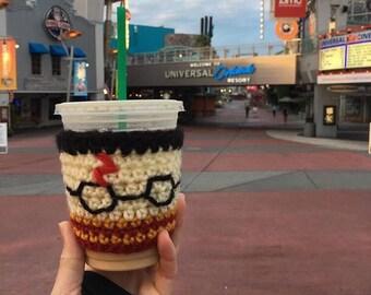 FREE SHIPPING Harry Potter mug, harry potter gift, hogwarts mug, harry potter, accio coffee, coffee cup holder, coffee mug holder,cup holder