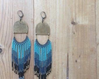 Keysha Fringe Samara  Earrings