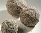 NETTLE Yarn - hand spun from hand harvested and processed Peruvian nettle