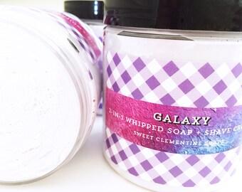 Whipped Soap, Shaving Soap, Bath Whip, Shaving Cream, Soap Whip, Shave Cream, Soap, Galaxy, Grape, Rose, Geranium, Patchouli