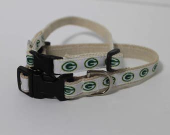 Green Bay Packers cat or dog collar