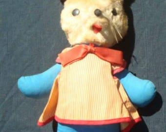 "Vintage Gund Bunny J. Swedlin ca. 1950s Tag 15"" Tall Stuffed Bunny Stuffed Animal"