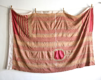 Kantha Silk Stitched Sarong