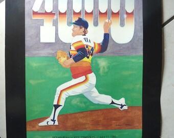 1985 Nolan Ryan 4000 Strikeout Giveaway at Astrodome