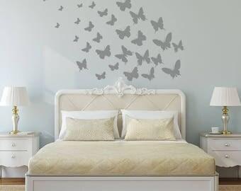 Butterfly Wall Art - Die Cut Butterflies - Wall Butterflies - Nursery Decor - Nursery Wall Decals - Nursery Wall Art - Wall Stickers - Decal