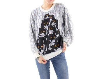 Cozy Crazy Kitty Sweater