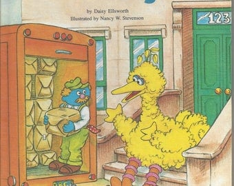 Vintage Sesame Street What Did You Bring? Children's Book, C1980