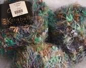 Karabella Cosmos Yarn mixed variegated lavender and teal 50gram ball