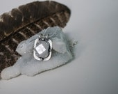 Crystal Compass Necklace | Apophyllite Necklace | Opal Necklace | Sterling Silver Necklace | Crystal Jewelry